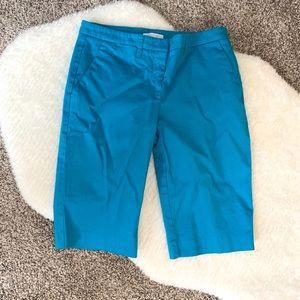Beautiful Blue Bermuda Shorts with Pockets